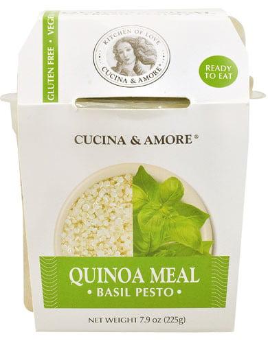 Cucina & Amore Quinoa Meal Basil Pesto 7.9 oz by CUCINA & AMORE