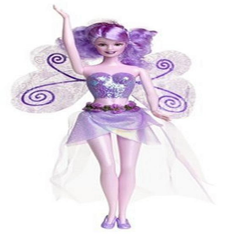 Sparkle Fairy Barbie Doll, Lavender by