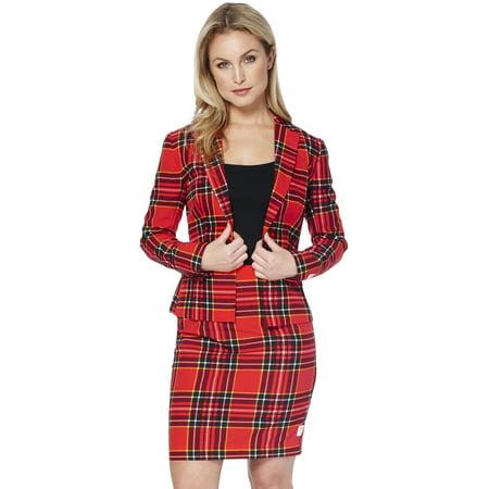 Xmas Suit (OppoSuits Women's Lumberjackie Christmas)