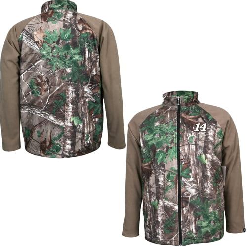 Tony Stewart Realtree Xtra Green Fleece Jacket Camo by Motorsports Authentics/Action Sports
