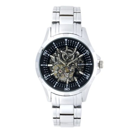 Men's Skeleton Stainless Steel Automatic Watch