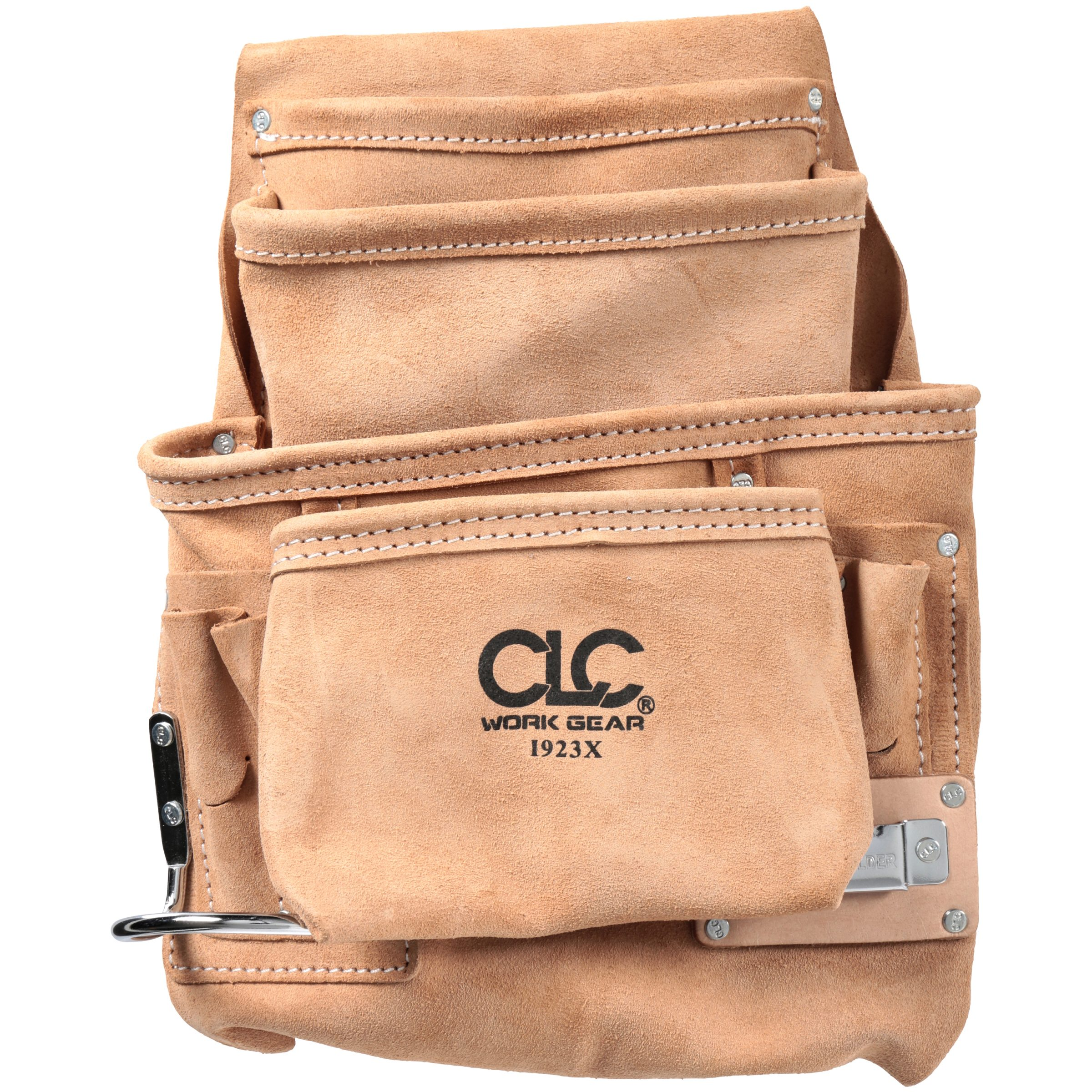 CLC® Tool Works™ 10 Pocket Carpenter's Nail & Tool Bag