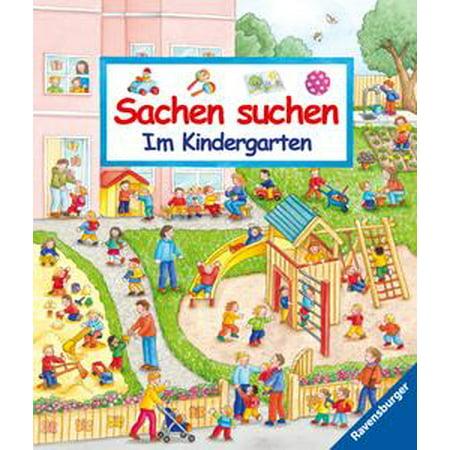 Sachen suchen - Im Kindergarten - eBook