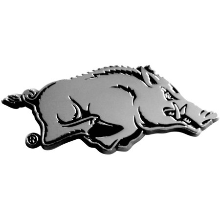 Fan Mats University of Arkansas (Chrome Auto Car Emblem)