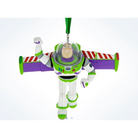 Disney Parks Toy Story Buzz Lightyear Resin Christmas Ornament New with (Buzz Lightyear Ornament)
