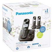 Best Answering Machines - Refurbished Panasonic KX-TG3683 Cordless Telephone with 3 Handsets Review