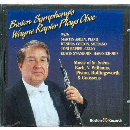 Bach/Goossens/Piston: Rapier Plays Bach Etc.