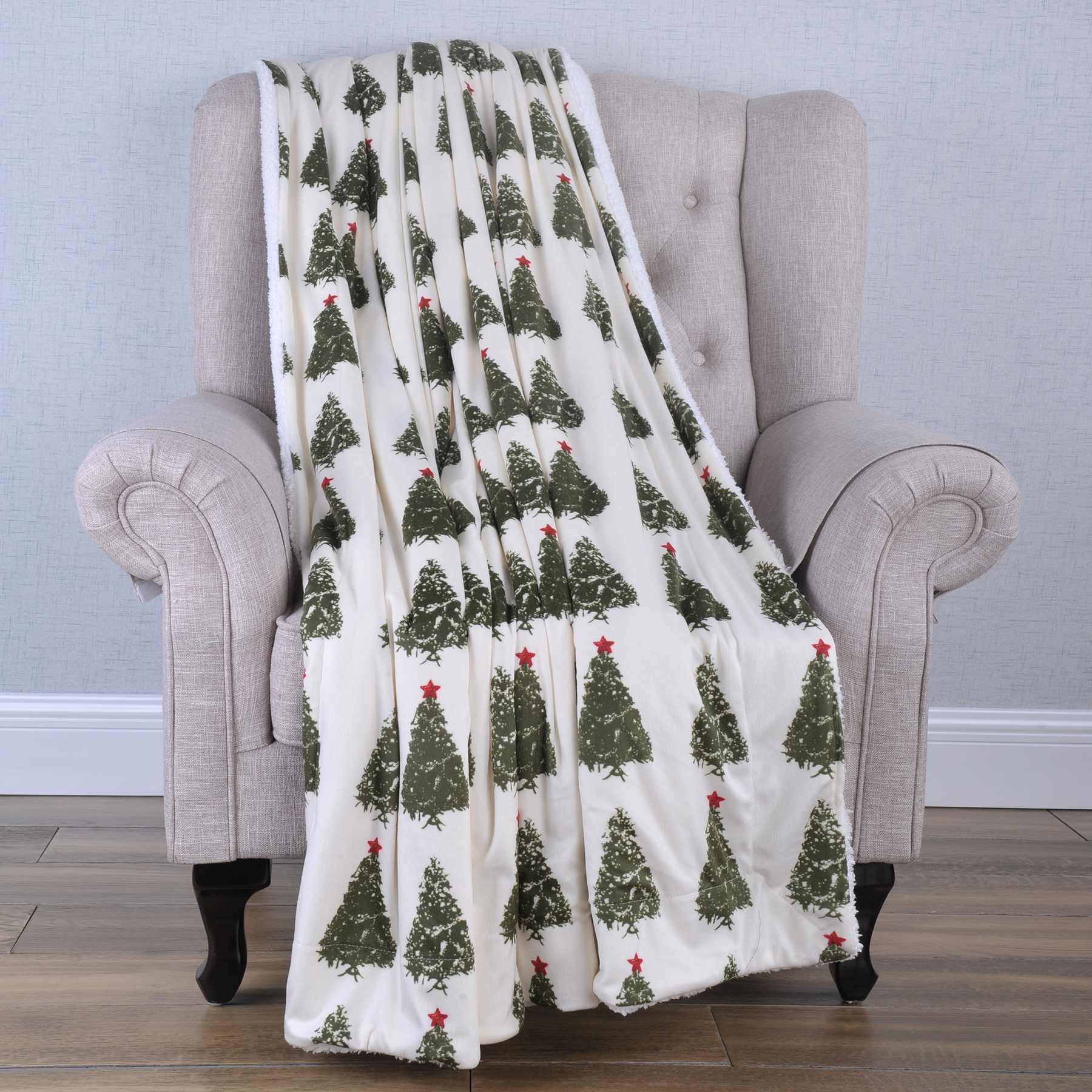 NEW Ultra Cozy /& Soft Christmas Holiday Dogs in Sweater Plush Warm Throw Blanket
