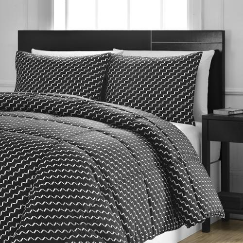 Reversible Medium Weight Down Alternative Comforter Set b...