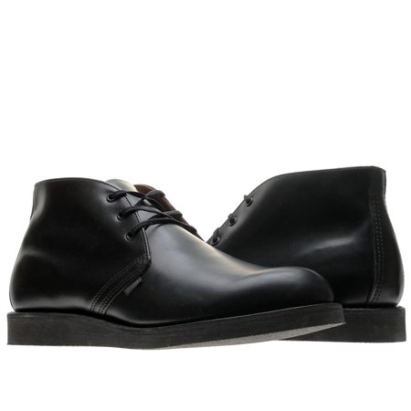 red wing heritage 9196 postman chukka black chaparral men's boots