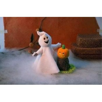 Hallmark Halloween LPR2337 Ghostly Singing Duo Featuring Sound and Motion - Hallmark Halloween
