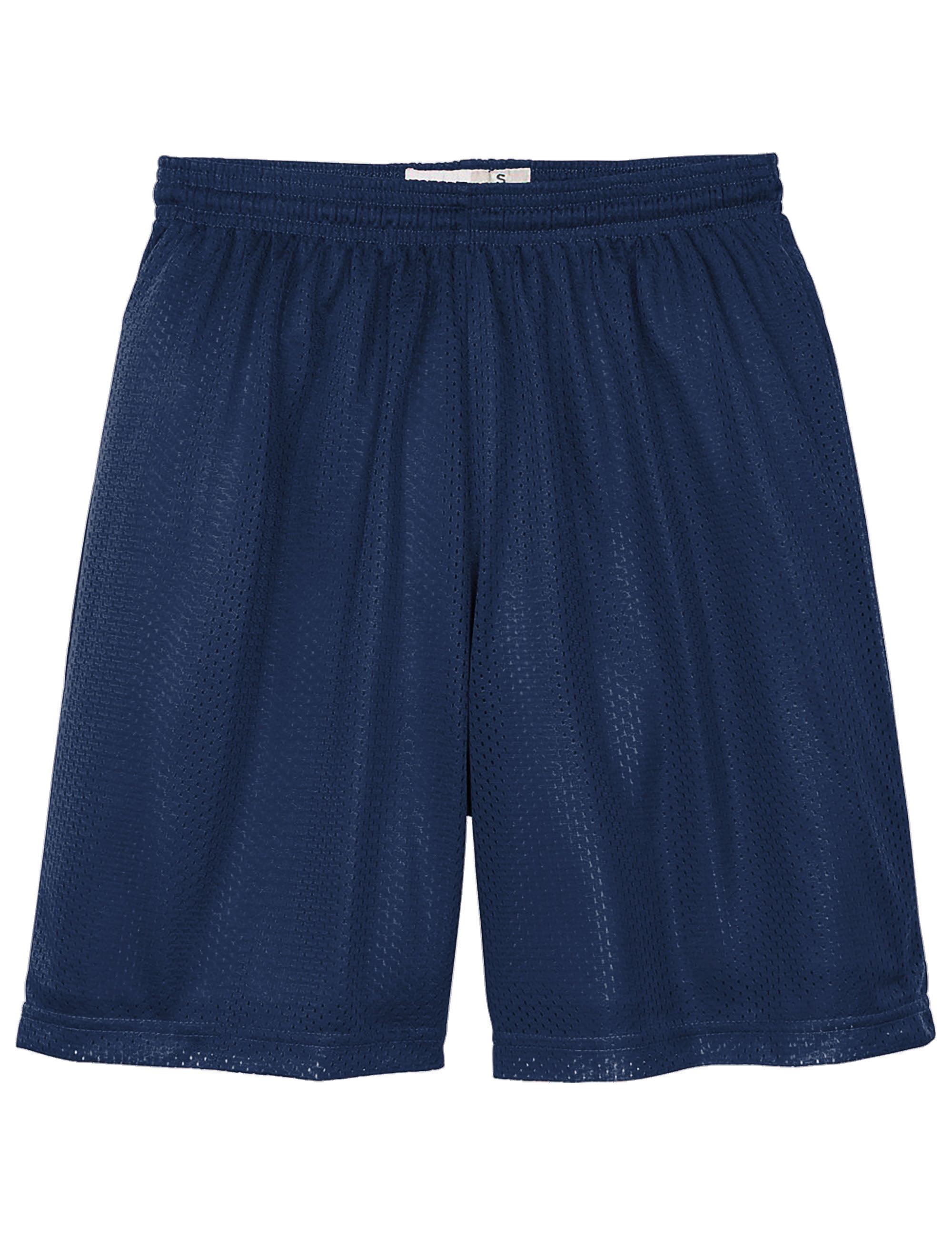 Kids Basketball Athletic Mesh Shorts