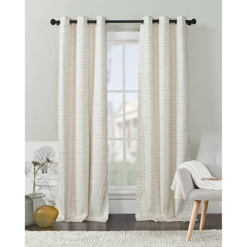 VCNY Home Textured Livingston Grommet-Top Blackout Curtain Panels, Set of 2