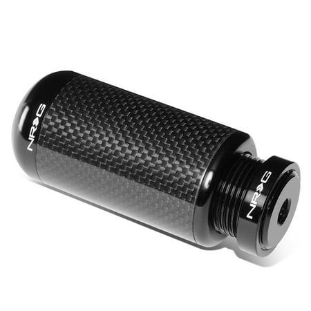 NRG Innovations SK-550CF-2 Universal Carbon Fiber Adjustable Manual Shifter Shift Knob M10 X 1.5 (Adjustable Shift)