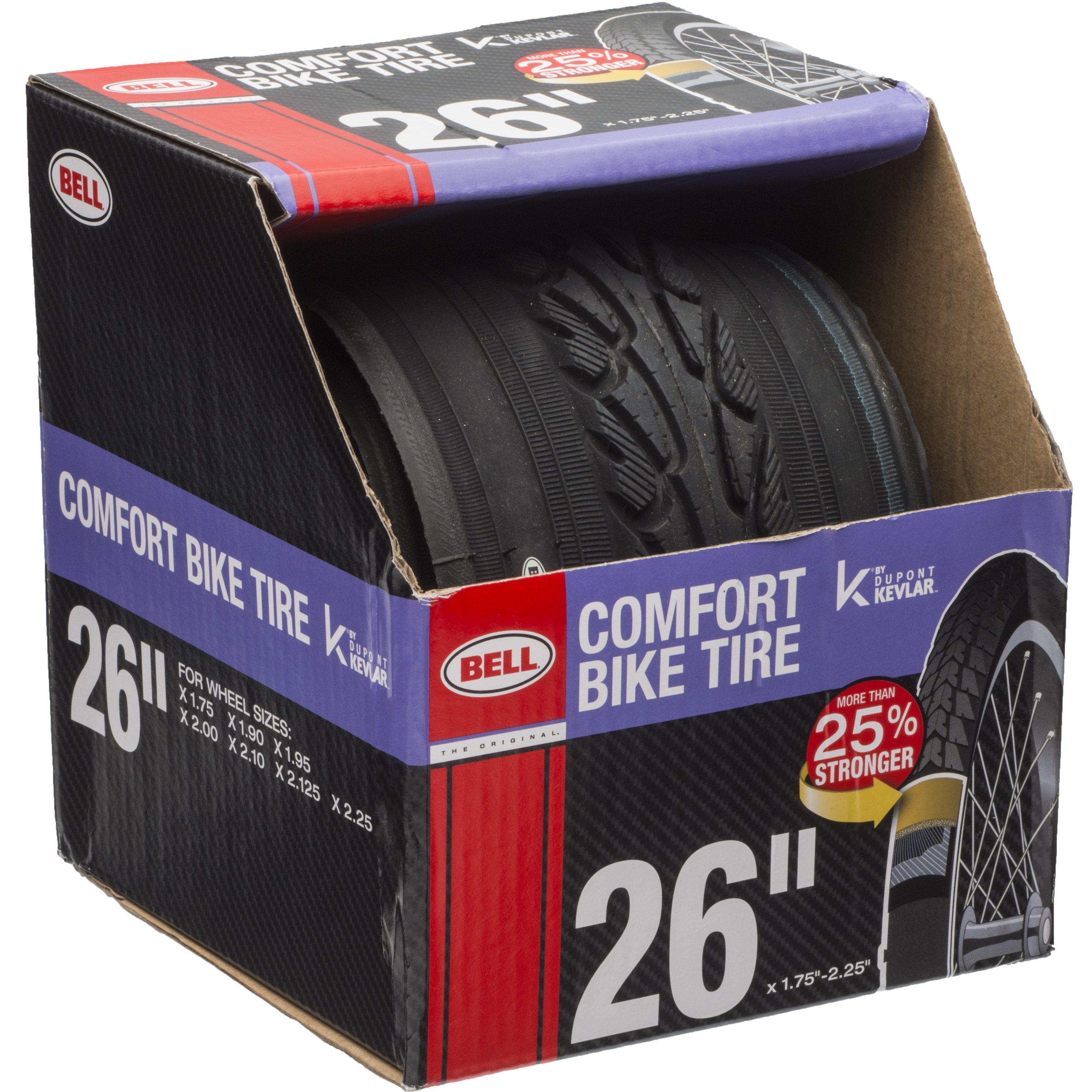 """Bell Sports Glide Comfort Road Tire with Kevlar, 26"""" x 1.75"""""""