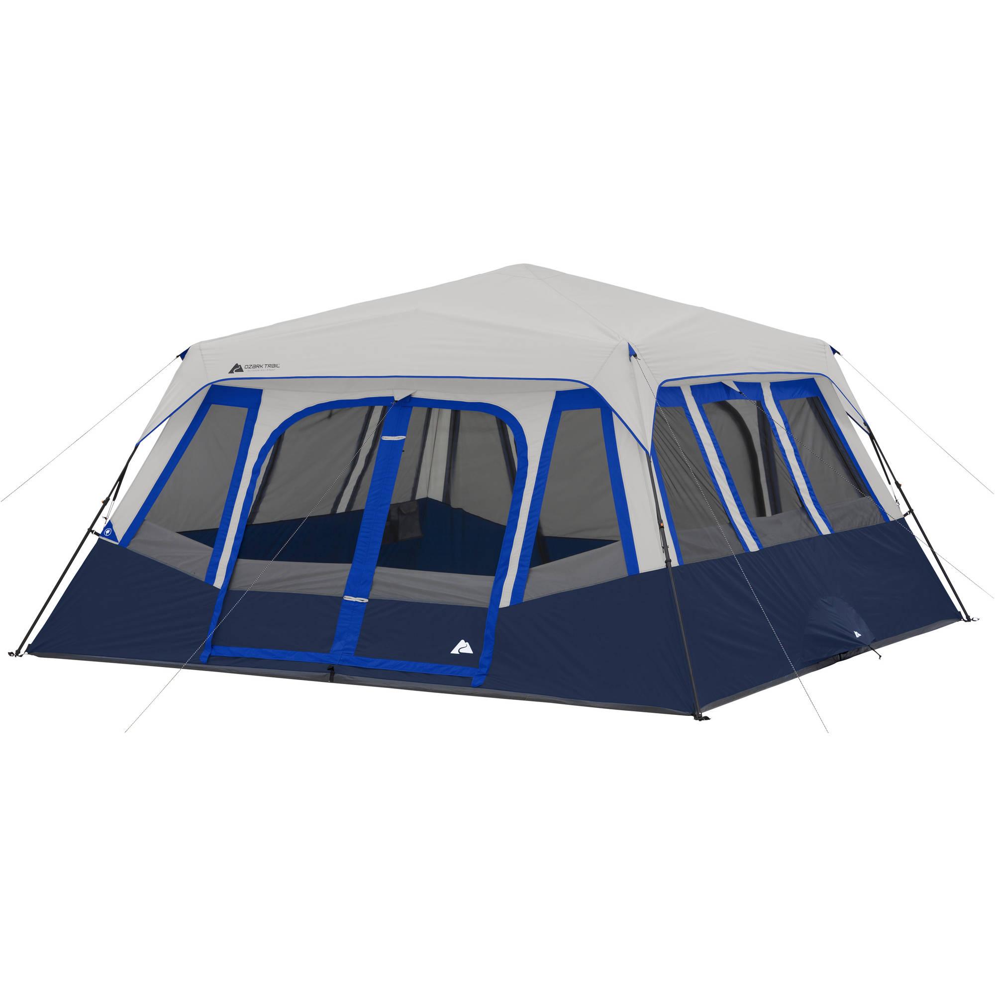 Ozark Trail 14 Person 2 Room Instant Cabin Tent Walmart Com