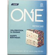 ONE Birthday Cake Protein Bar, 2.12 Oz., 4 Count
