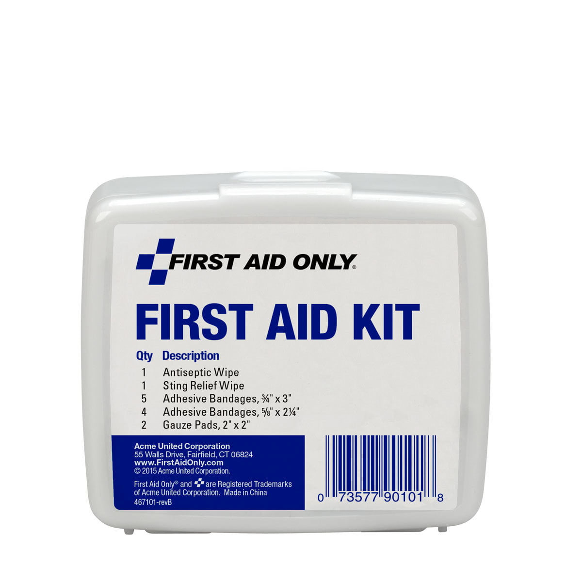 First Aid Only 13 Piece Personal First Aid Kit by ACME UNITED CORPORATION