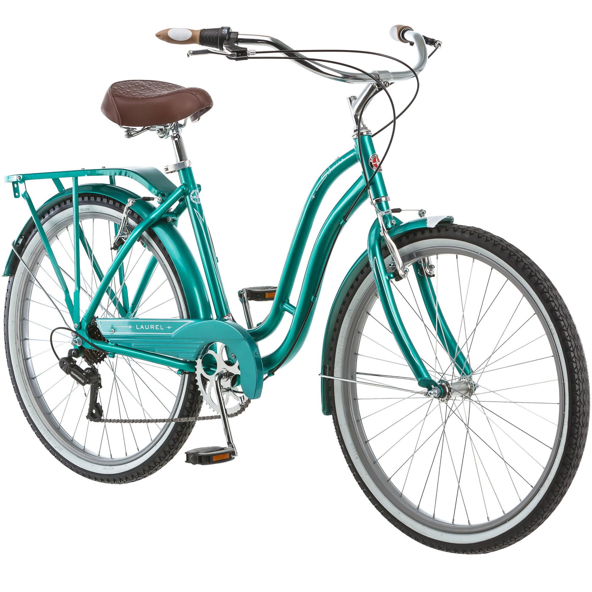 "26"" Schwinn Laurel Women's Cruiser Bike, Green"