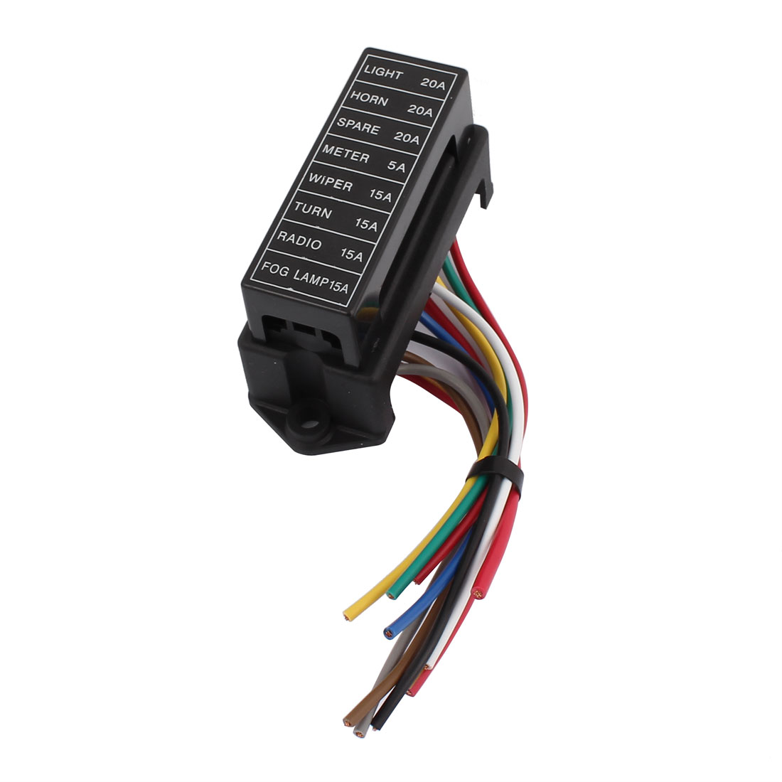 Hs 008 Jiazhan Car 8 Way Fuse Box Road With Wire Modification Auto Wiring Basic Block