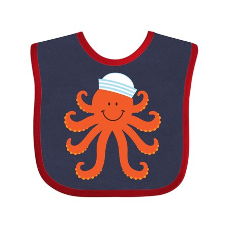 Baby Sea Creatures (Orange Octopus Cute Sea Creature Nautical Baby)