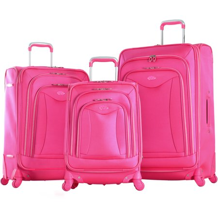 Luxe 3 Piece Expandable Luggage Spinner Set