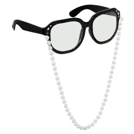 Halloween Child Size Glasses w/ Pearls (1ct) - Pearl's Liquor Bar Halloween