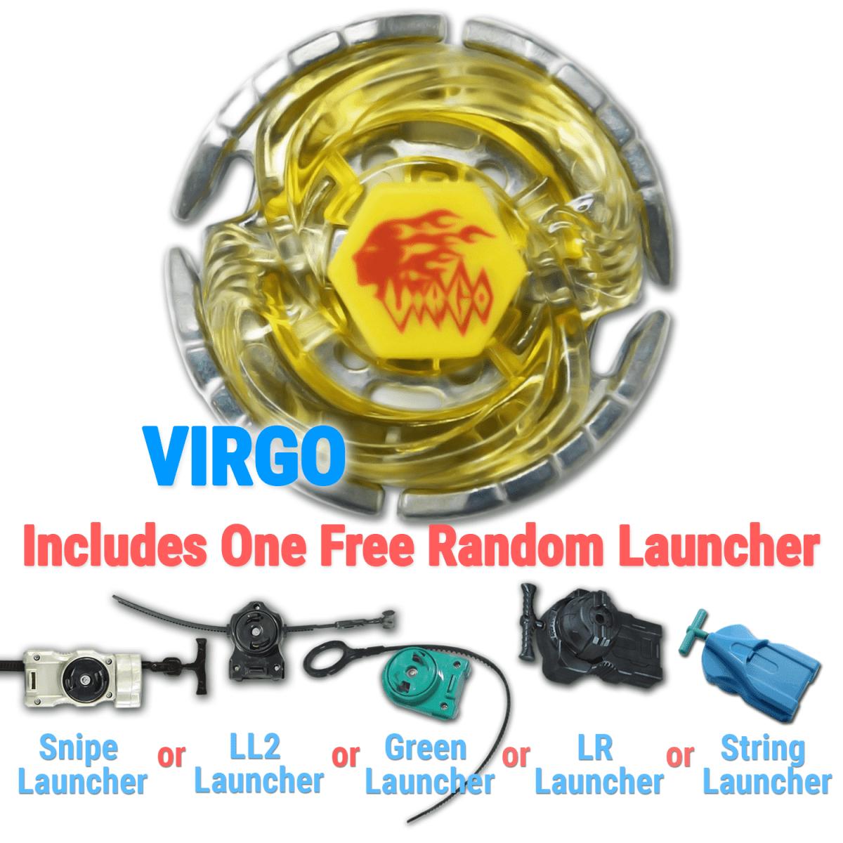 Virgo ED145ES High Performance Beyblade w/ Free Launcher ...