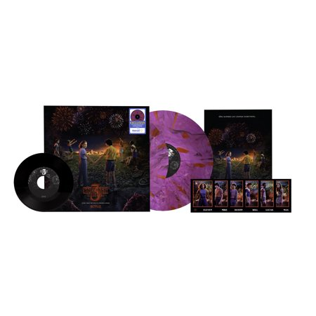 Stranger Things: Soundtrack from the Netflix Original Series, Season 3 (Vinyl) (Walmart Exclusive) - Et The Extra Terrestrial Soundtrack Halloween