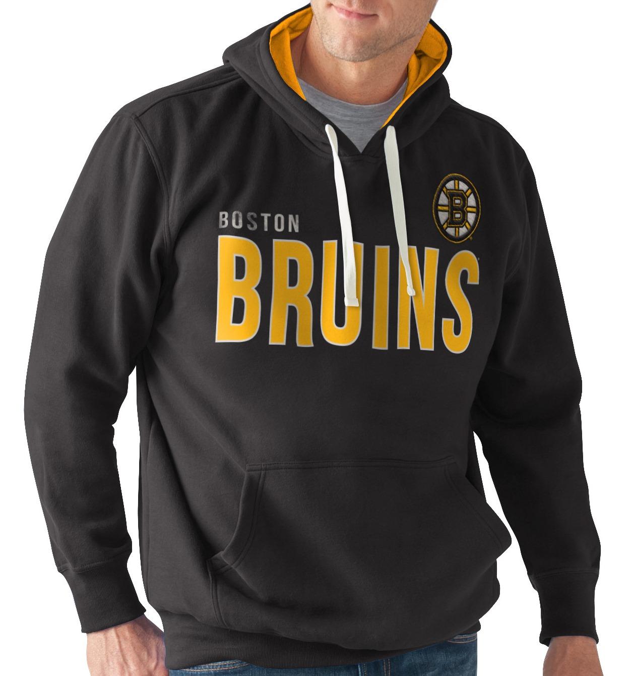 "Boston Bruins NHL Men's G-III ""All Star"" Hooded Fleece Sweatshirt"
