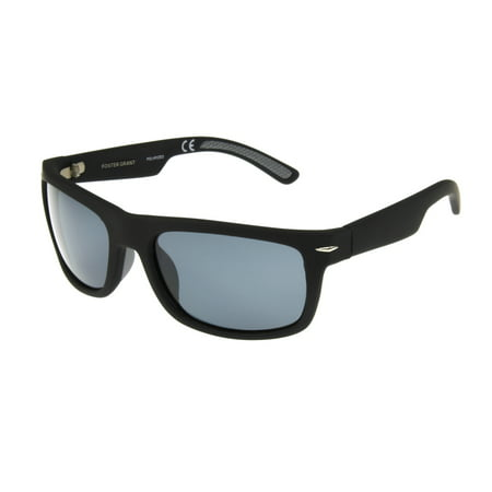 Foster Grant Men's Black Retro Sunglasses GG03