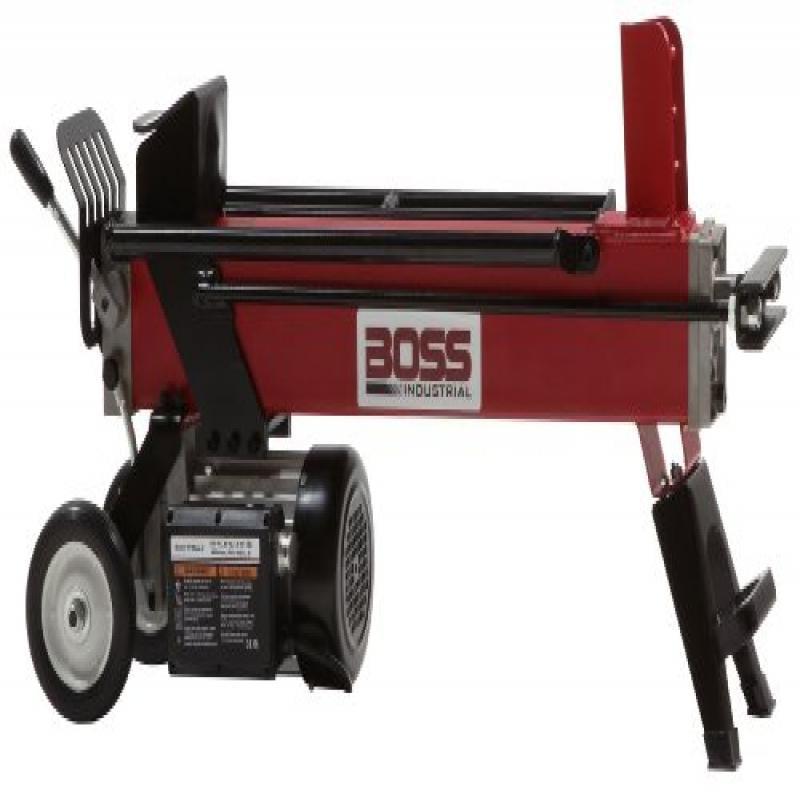 Boss Industrial EC5T20 Electric Log Splitter, 5 Ton