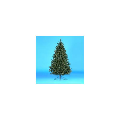 6.5' Pre-Lit Norway Pine Decorative Christmas Half Tree - Clear Lights