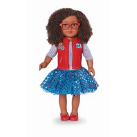"My Life As 18"" Poseable Class President Doll, African American"