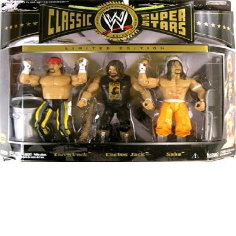 Jakks WWE 3-Pack Wrestling Figure Set Classic Superstars:...