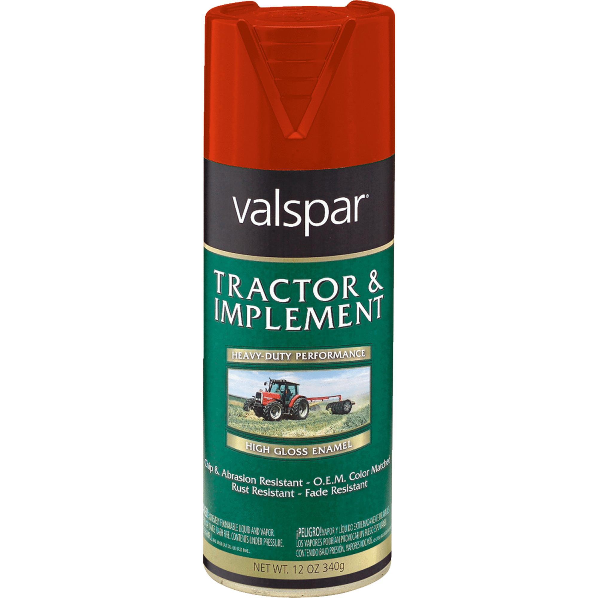 Valspar Tractor U0026 Implement Spray Paint Enamel   Walmart.com