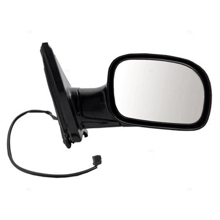 BROCK Power Side View Mirror Smooth Passenger Replacement for 01-07 Dodge Caravan Chrysler Town & Country Voyager Van 4857876AC Caravan Side View Mirror