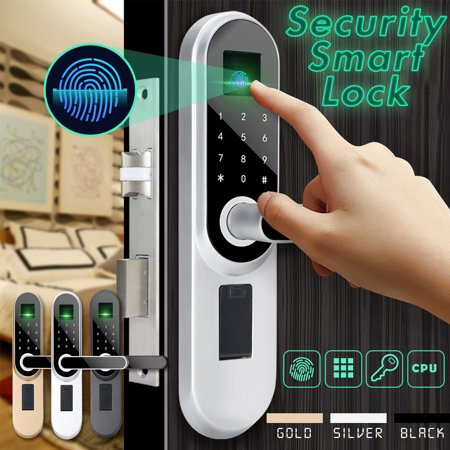 Fingerprint Door Lock - Universal Digital Smart Door Lock Password Fingerprint Anti-theft Security