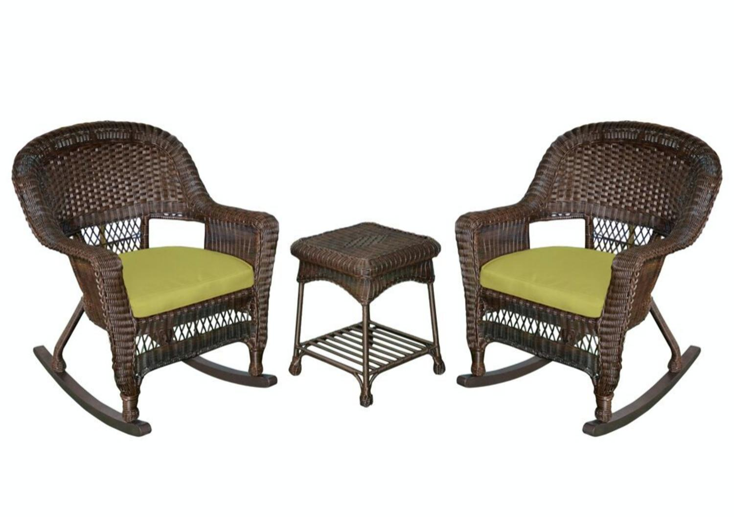 better homes and gardens camrose farmhouse mix and match wicker swivel chairs set of 2 walmartcom