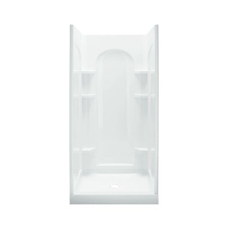 Sterling Shower Enclosures - Ensemble 34 in. x 42 in. x 77 in. Curve Shower Kit in White