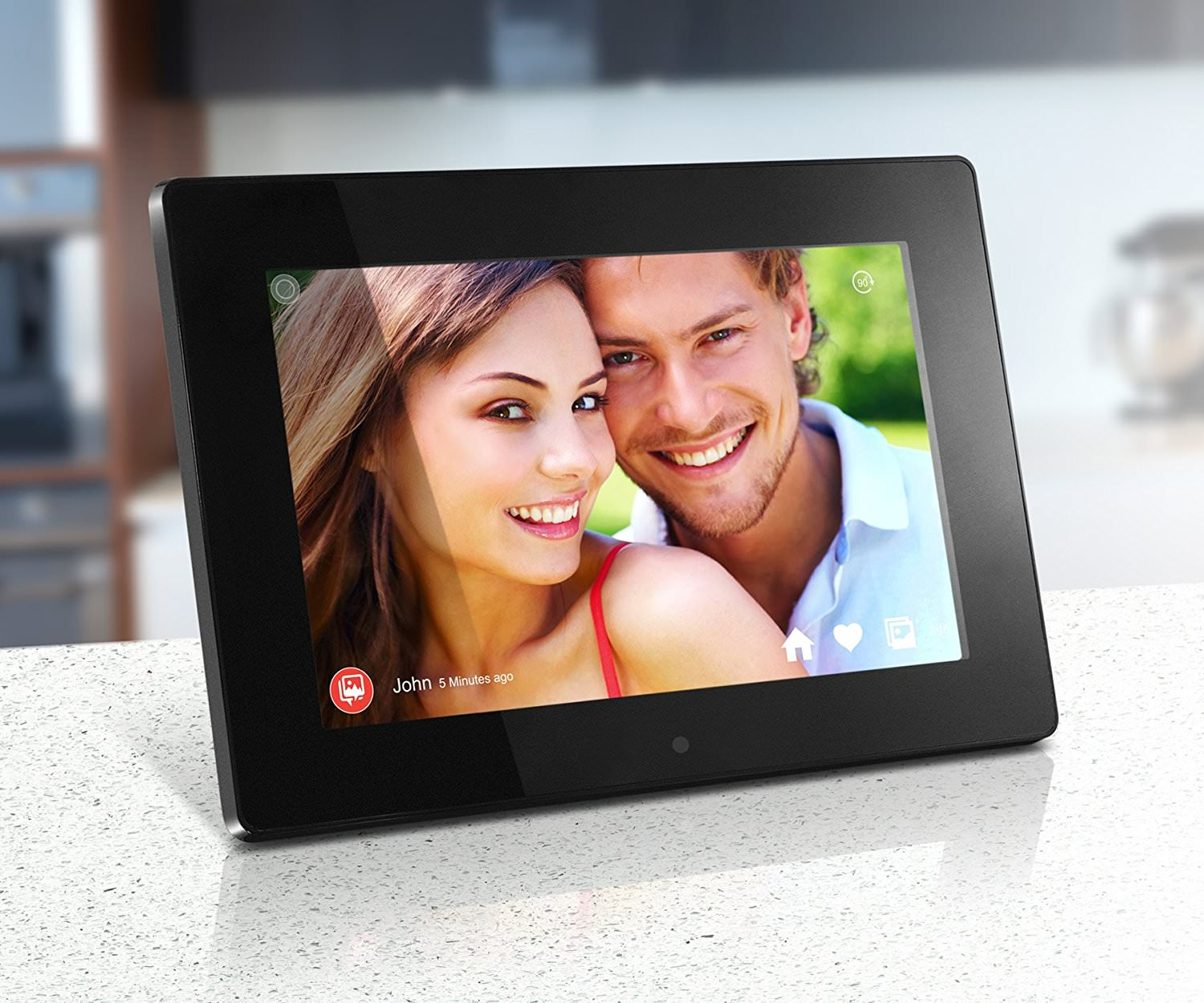 "Aluratek AWDMPF110F 10.1"" 8GB Wi-Fi Digital Photo Frame"