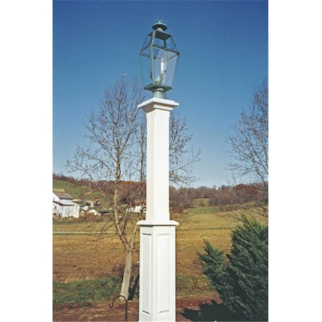 New England Woodworks NBLP Natural New Bold Lantern Post