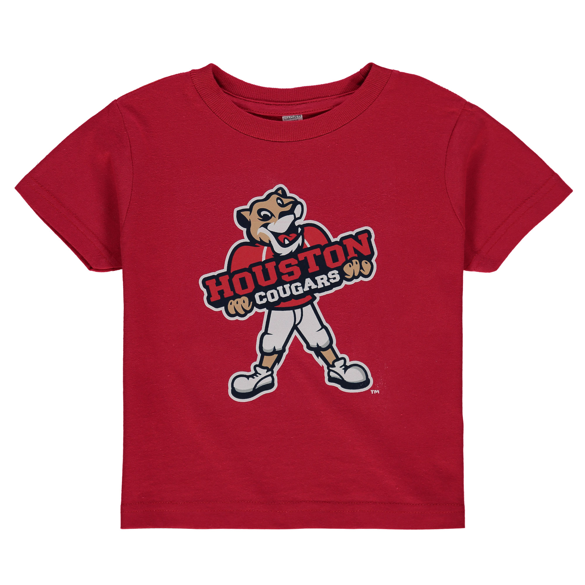 Big Red W: Houston Cougars Toddler Big Logo T-Shirt