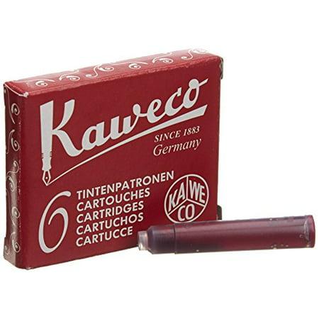 Shot Pens (Kaweco Fountain Pen ink cartridge short red - pack of)