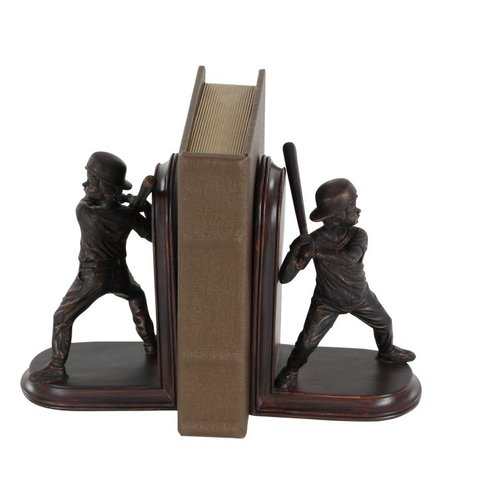Cole & Grey Poly Stone Bookends (Set of 2) by GwG Outlet