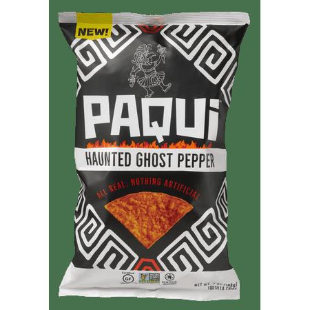 Paqui Gluten-Free Haunted Ghost Pepper Tortilla Chips, 7.0 Oz.