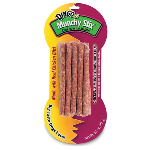 Dingo Munchy Stix Dog Treats, 10 Ct by Spectrum Brands