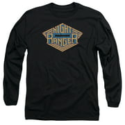 Night Ranger Logo Mens Long Sleeve Shirt