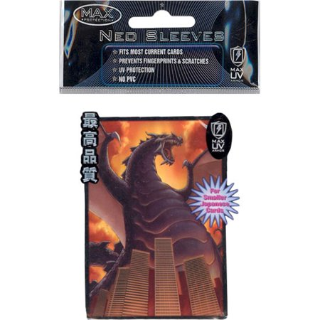 Trading Card Supplies - Max Neo DECK PROTECTORS - THE DESTRUCTOR (50 pack - Small (Small Max Pack)