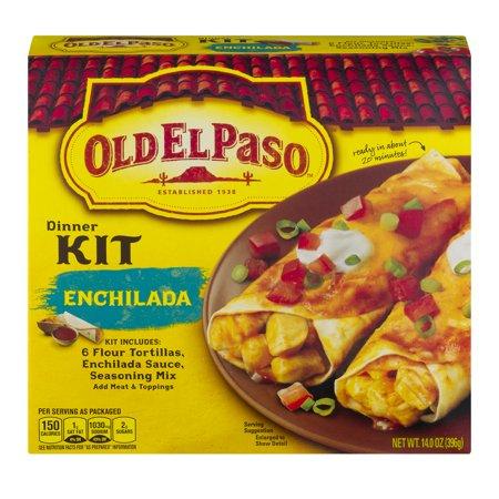 UPC 046000287393 - Old El Paso Enchilada Dinner Kit, 14 oz